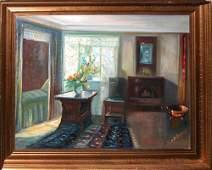 363: Ingeborg B. Dubois Painting, Bedchamber