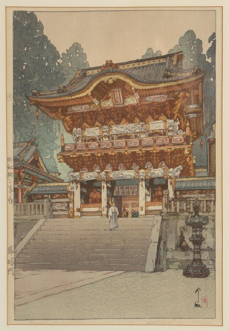 3 Hiroshi Yoshida  color woodblocks  Views of Japan