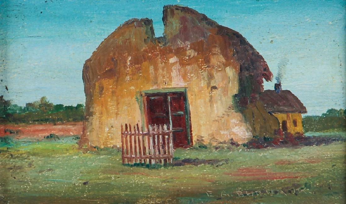 Elbridge Burbank painting Nambe New Mexico