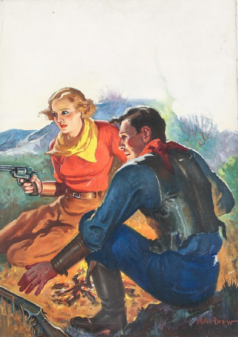 John Drew 1st Watch for Ranch Romances 1935