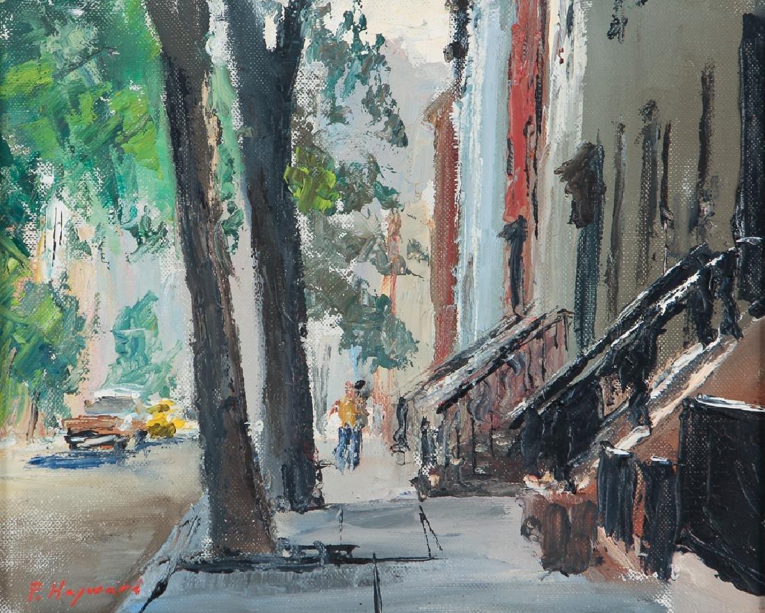 Peter Hayward Eleventh Street NYC painting