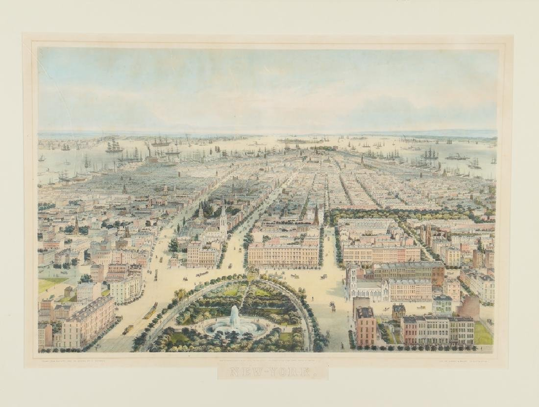 New-York Lithograph by Sarony & Major after Bachman