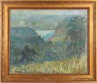 Aaron Gorson Distant Mills Painting