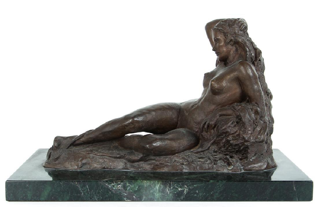"""Malcolm Parcell cast bronze """"Venus"""""""