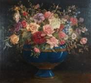 William Speer Floral Still Life Painting