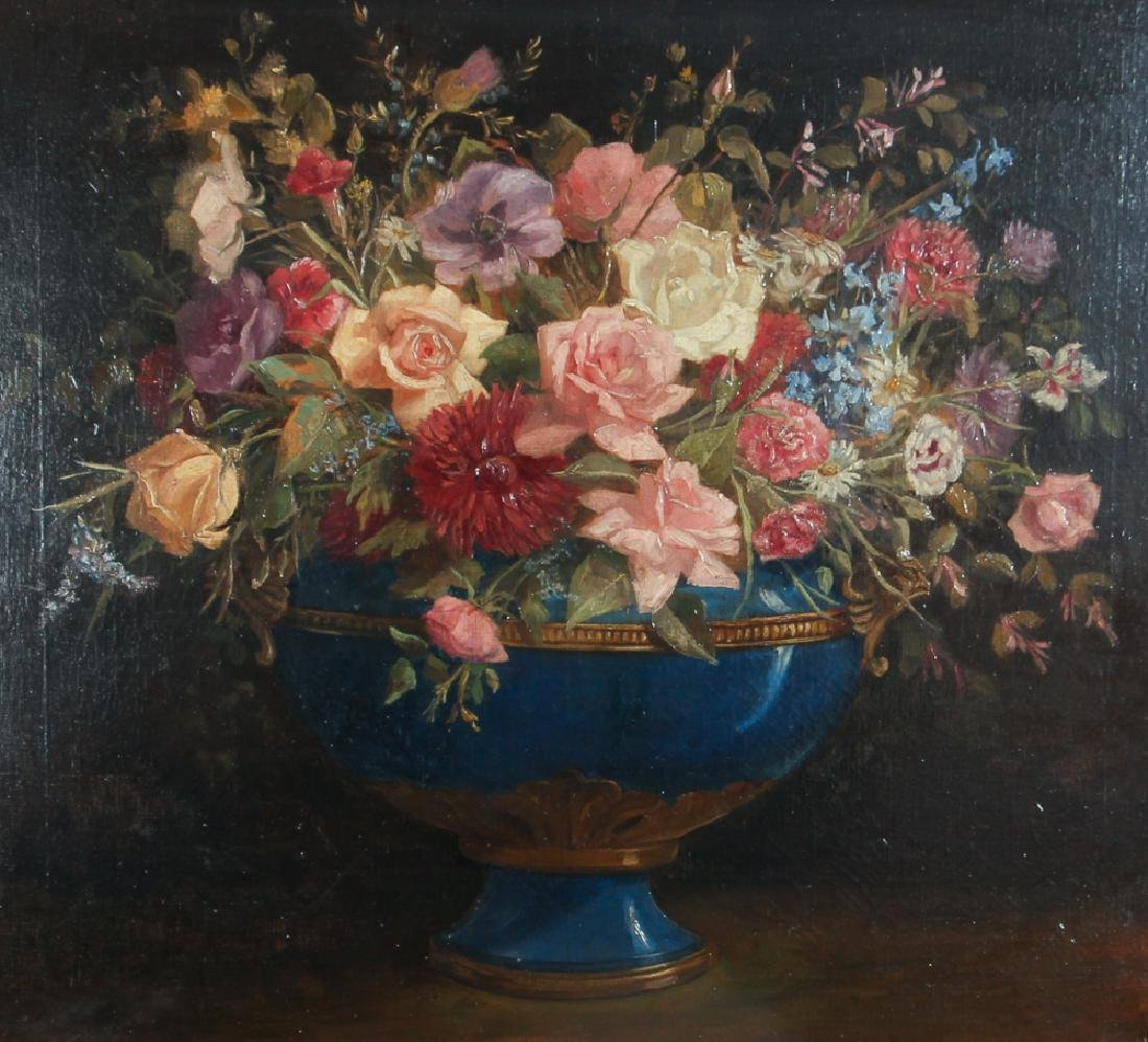 William Speer Floral Still Life Painting
