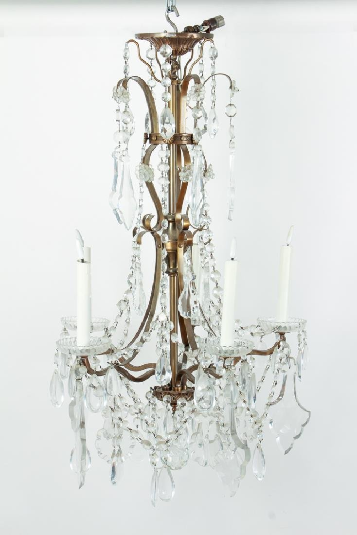 French Style 5 Light Chandelier