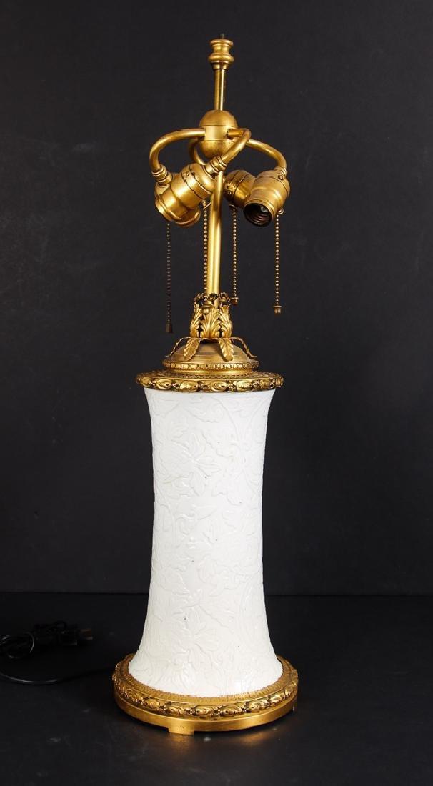 Antique Blanc de Chine Vase as Lamp