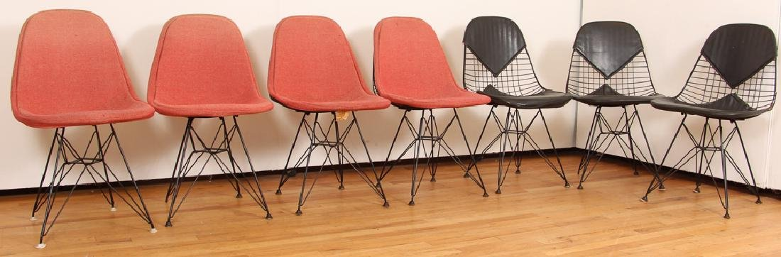 7 Eames for Herman Miller Eiffel/Bikini Chairs