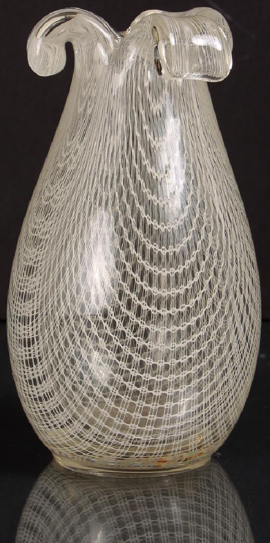Italian Glass Vase attributed to Aureliano Toso