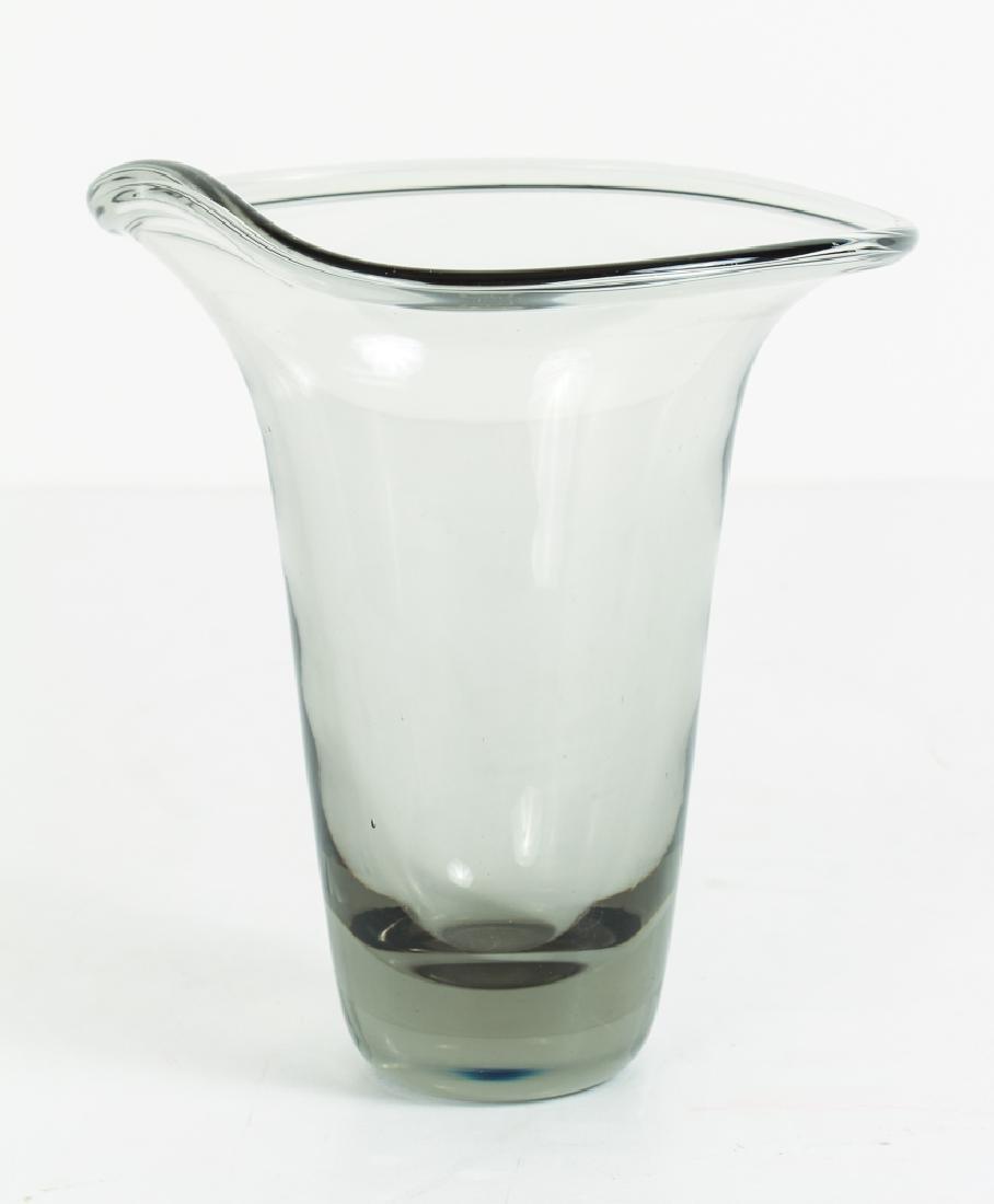 Kosta-Lindstrand Smoke Glass Vase