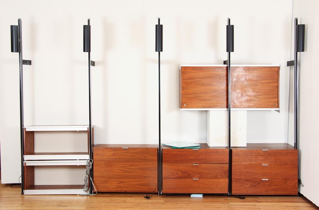 George Nelson Sectional Wall Unit