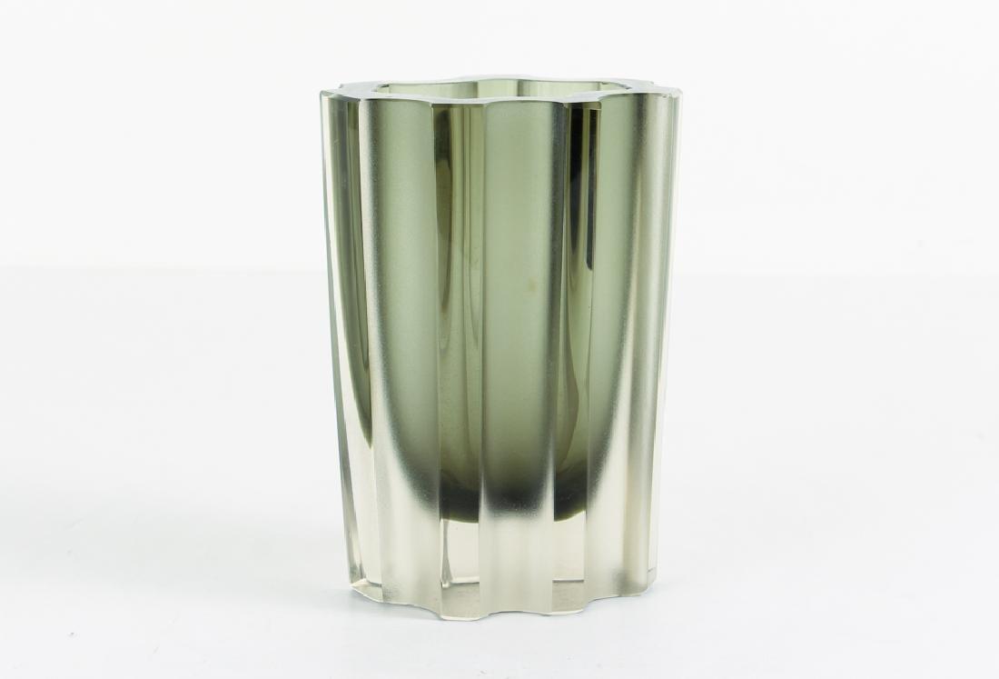 Tapio Wirkkala for Littala Modernist Fluted Vase