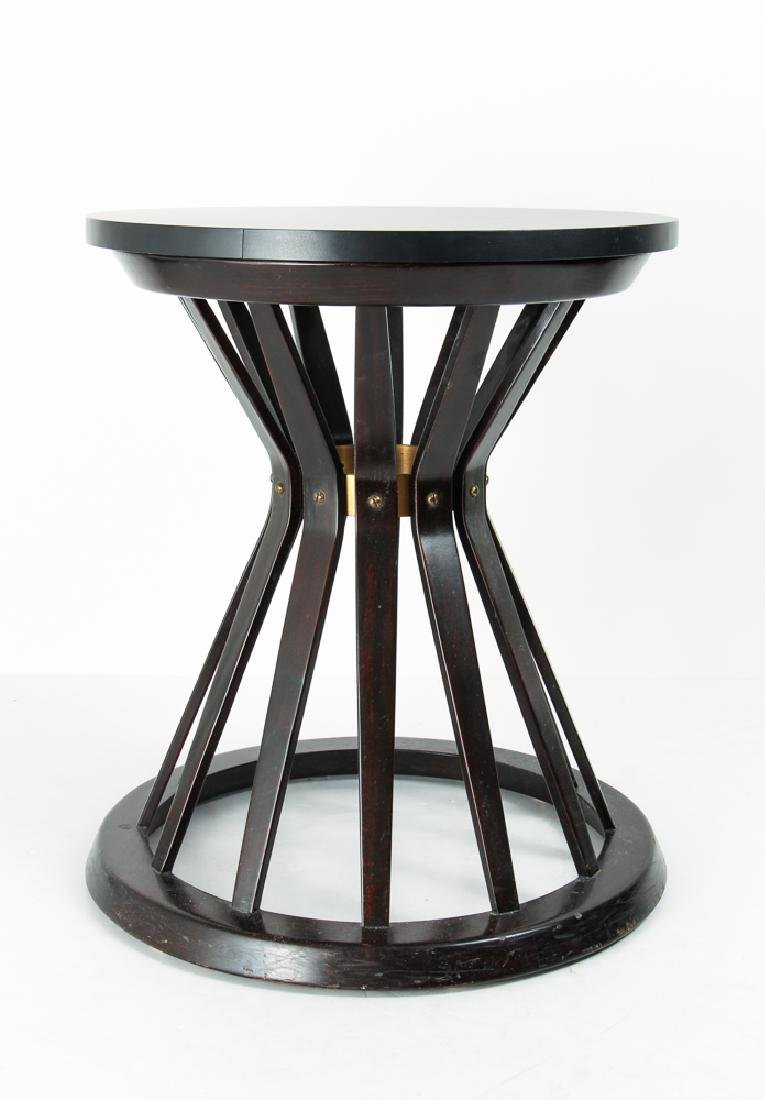EDWARD WORMLEY SHEATH OF WHEAT SIDE TABLE