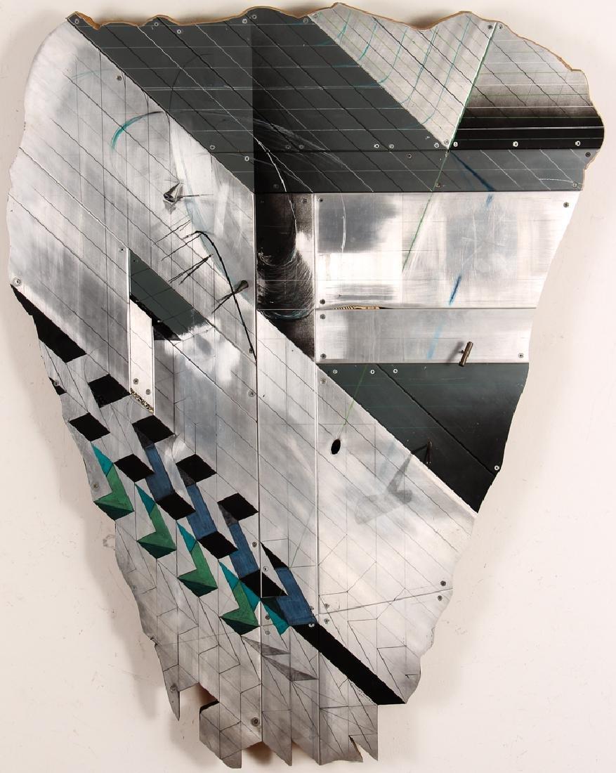 Vincent Buwalda Aluminum and Mixed Media Sculpture