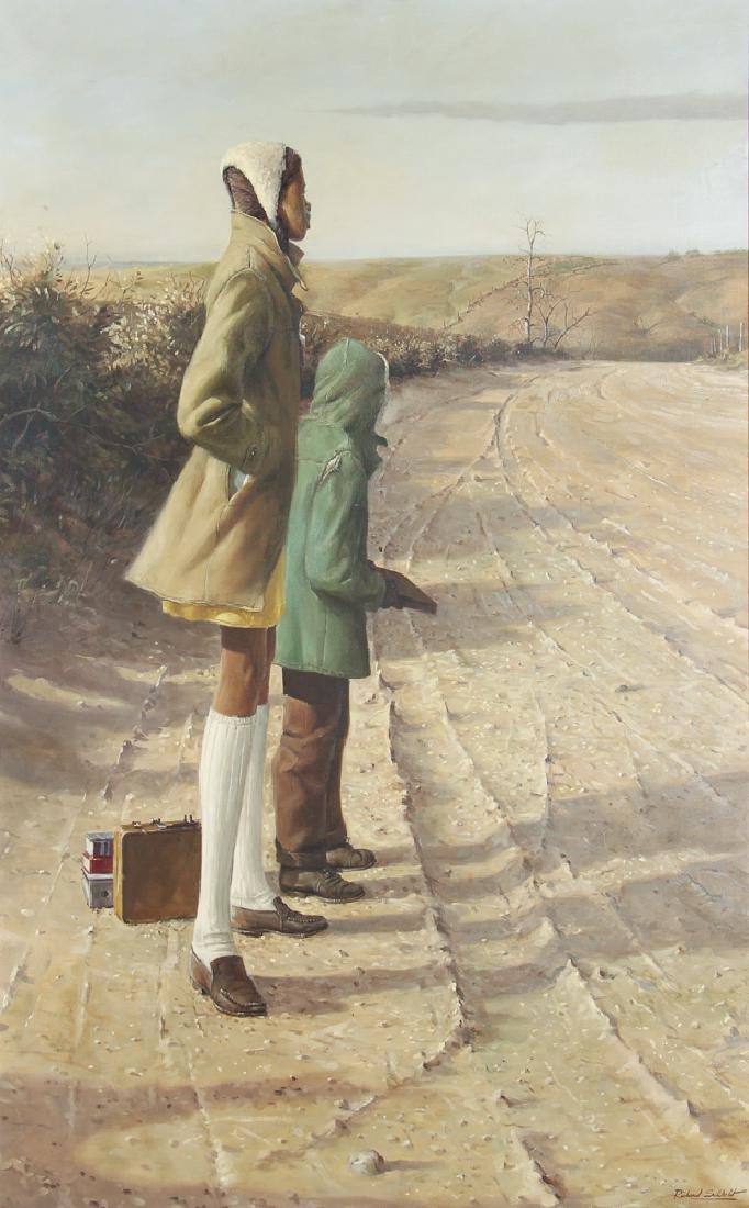 Richard Schlecht African American Oil Painting