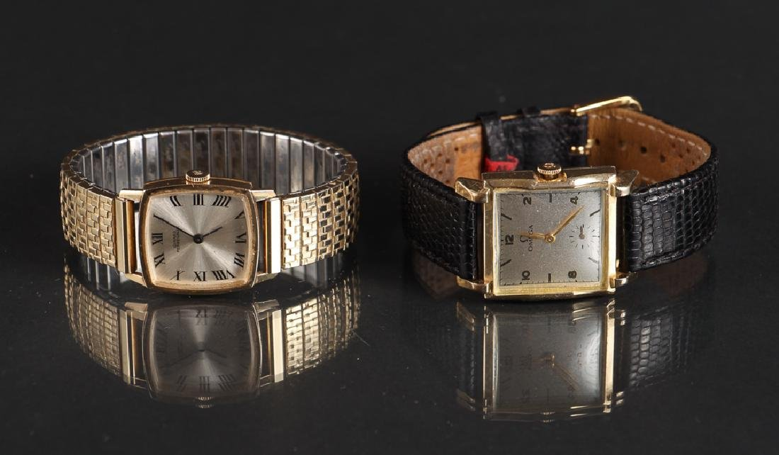 Girrard Perregaux and Omega Wristwatches