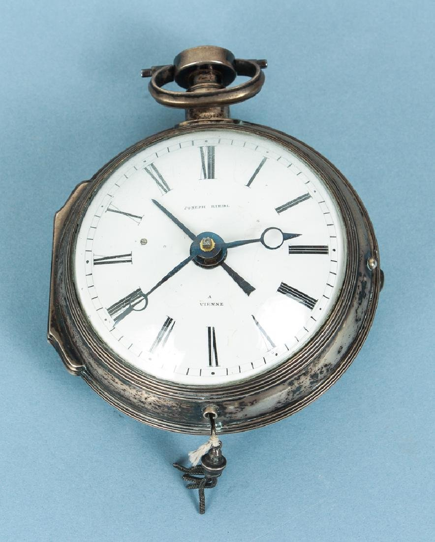 Large Vienna Pocket Watch by Joseph Riedl