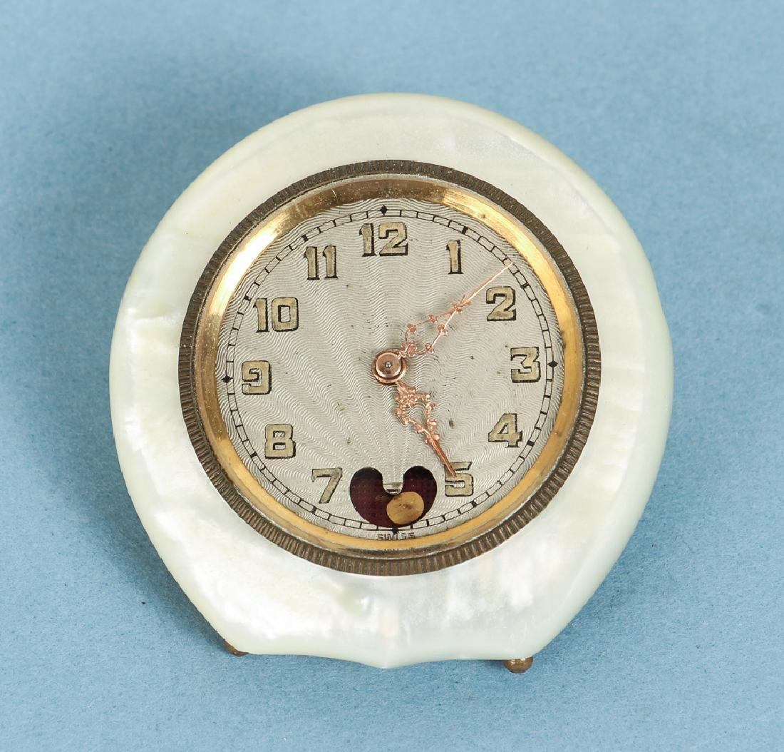 Small Swiss Travel Clock