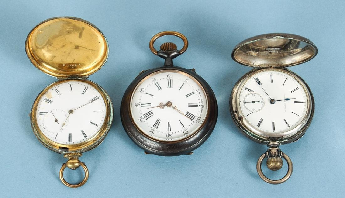 Three Miscellaneous Pocket Watches