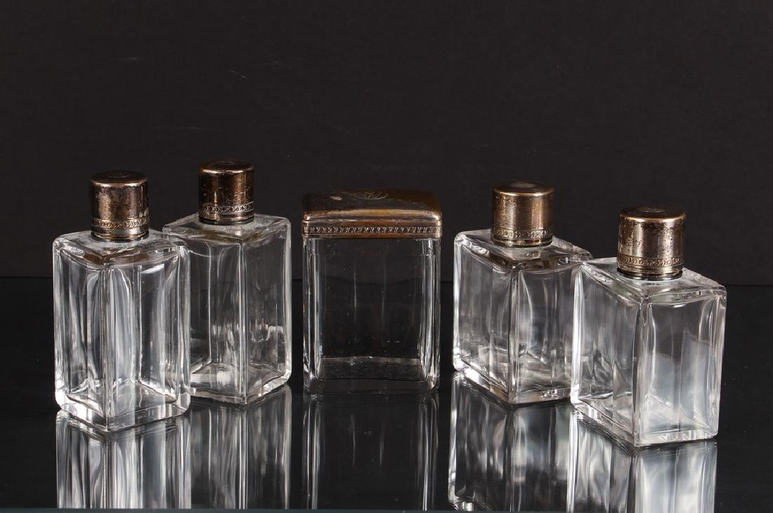 Vintage Louis Vuitton Gentleman's Bottles