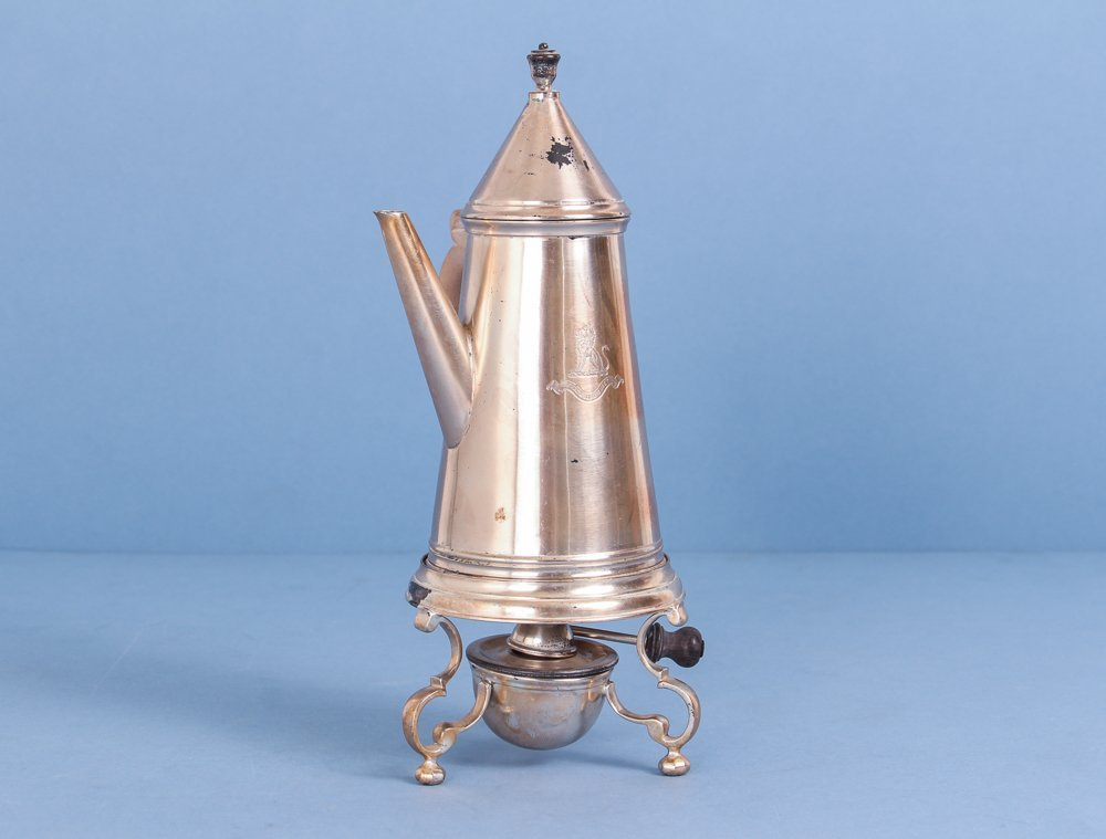 Crichton Brothers Sterling Silver Coffee Pot