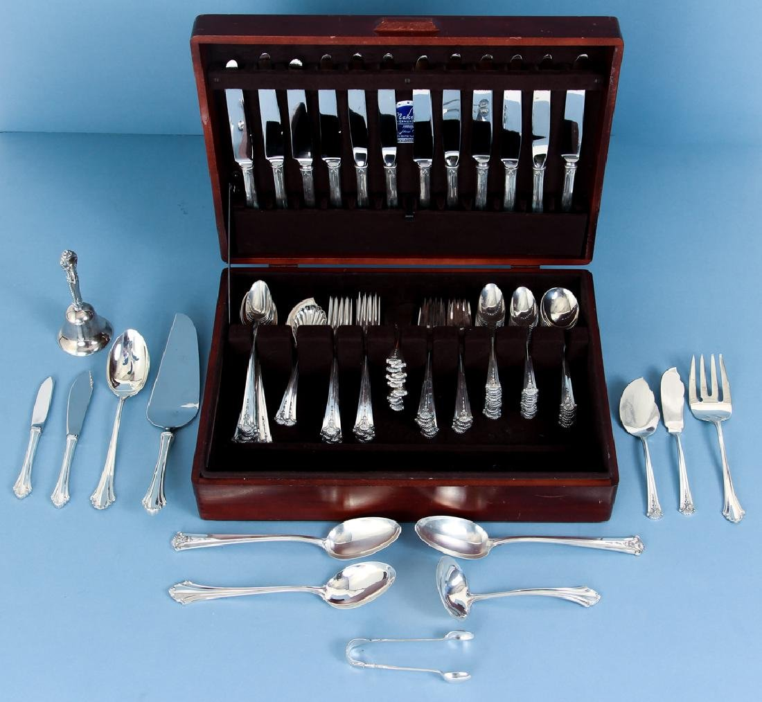 S Kirk and Son Severn Worthington Sterling Flatware Set