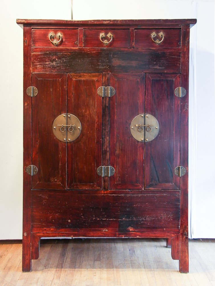 Large Contemporary Armoire in Chinese Style