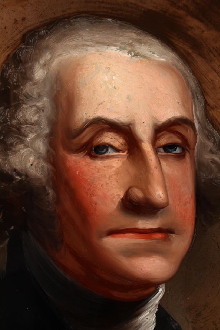 William Matthew Prior reverse glass Portrait of George - 4