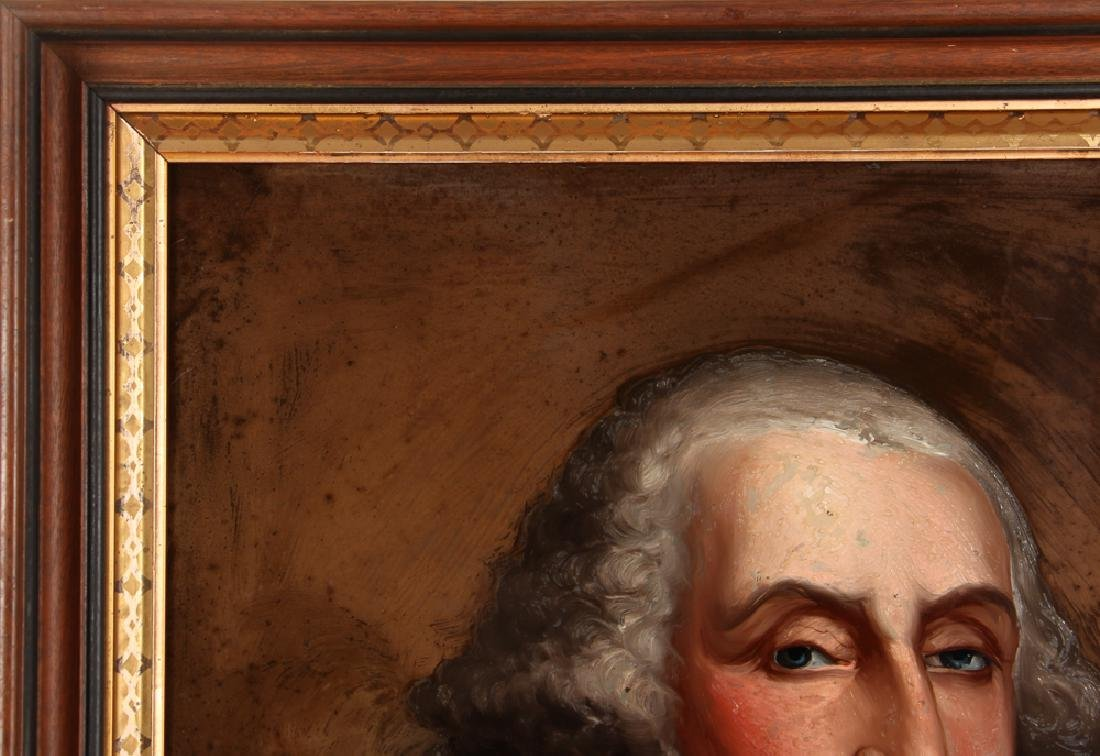 William Matthew Prior reverse glass Portrait of George - 8