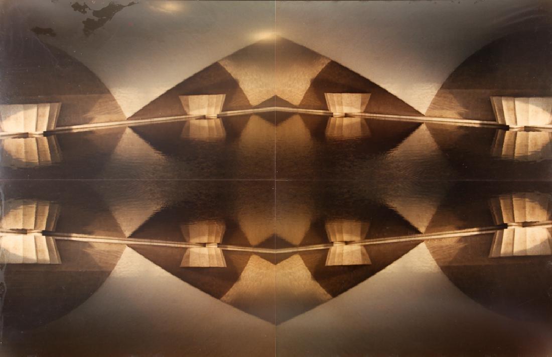 Interesting Contemporary Photograph of Pyramid shaped