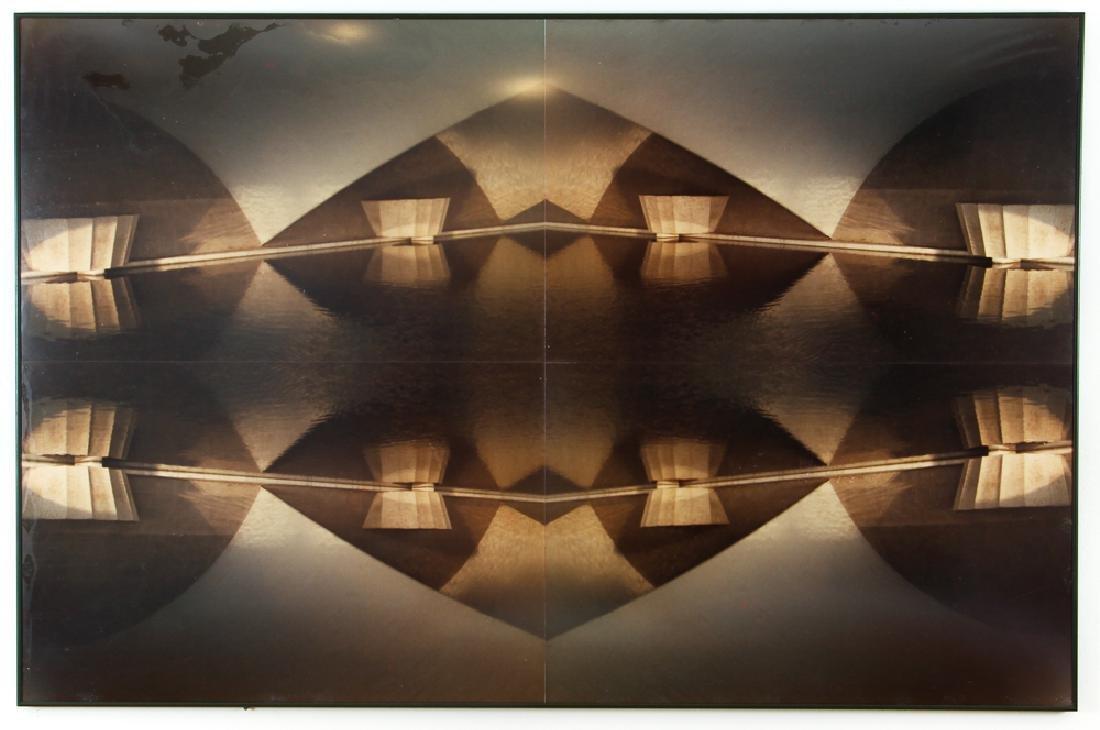 Interesting Contemporary Photograph of Pyramid shaped - 2