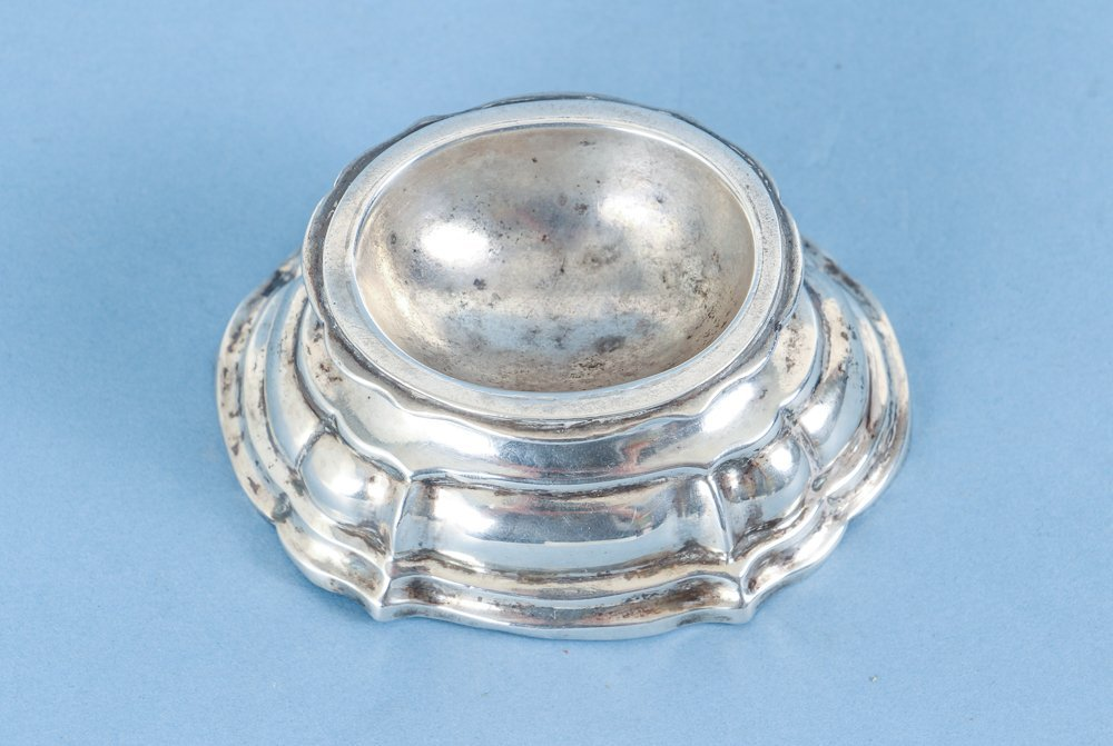 Very Early Sterling Silver Salt Cellar