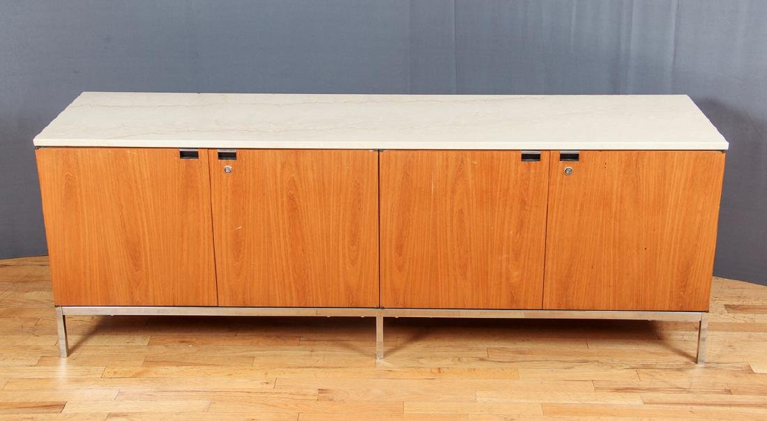 Florence Knoll Credenza with Marble Top