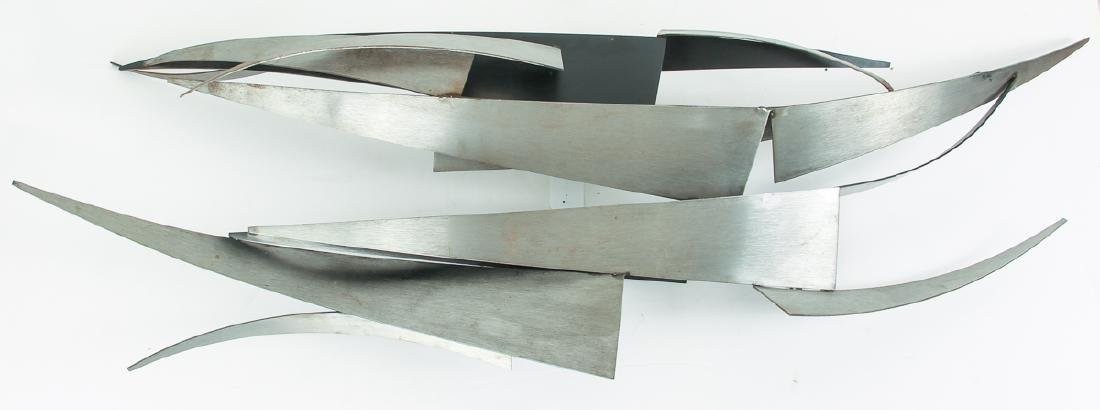Curtis Jere Abstract wall sculpture Blades