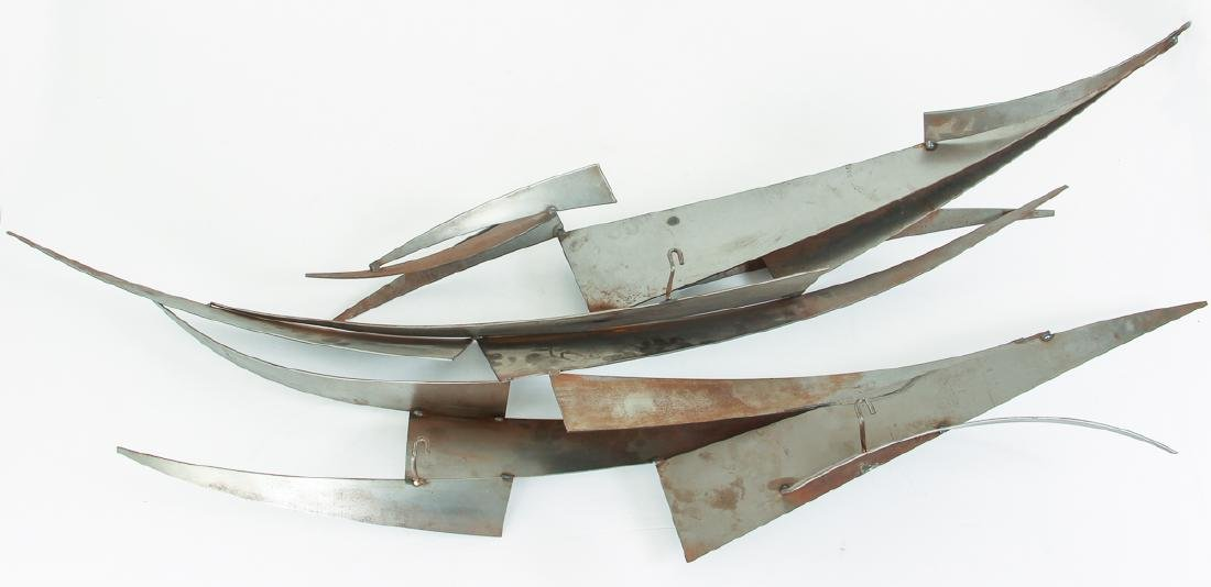 Curtis Jere Abstract wall sculpture Blades - 3