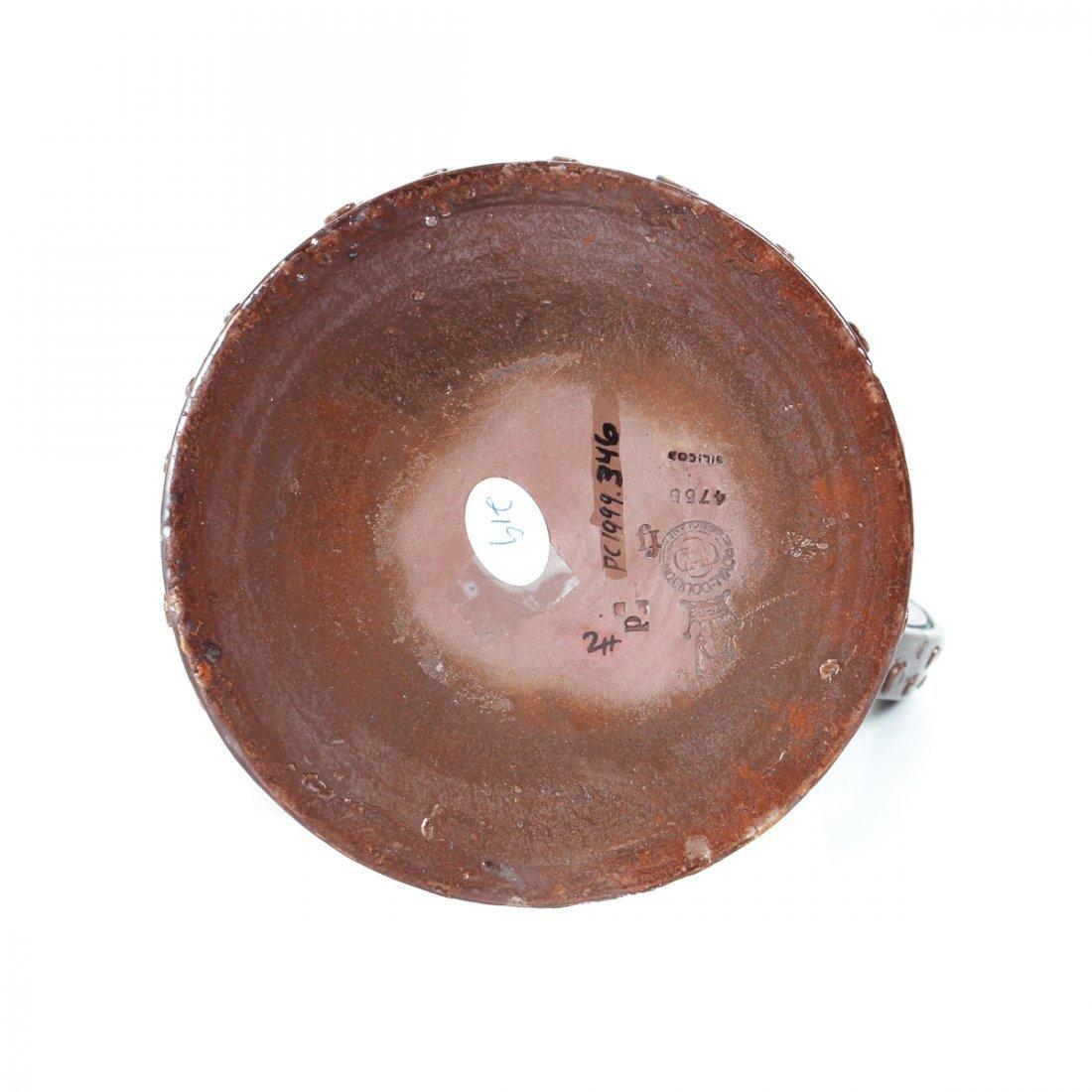 Doulton Lambeth Simulated Copper Ware Pitcher - 5