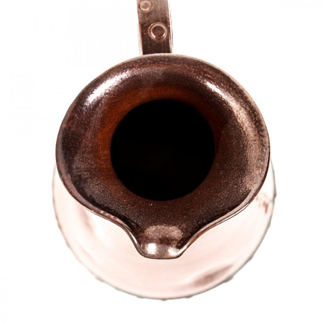 Doulton Lambeth Simulated Copper Ware Pitcher - 7