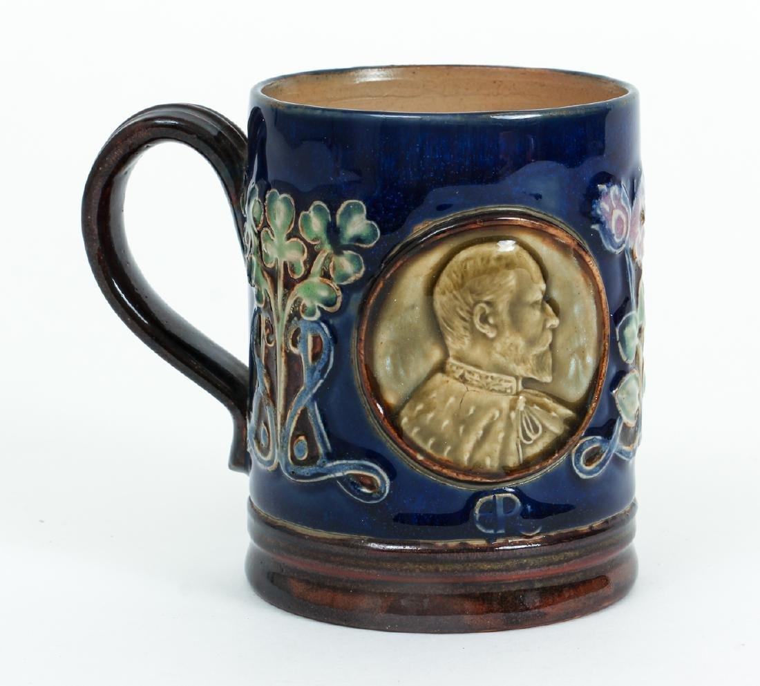 Doulton Lambeth Mug Edward & Alexandra - 3