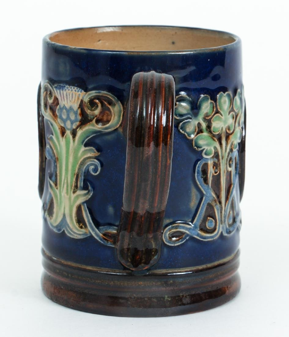 Doulton Lambeth Mug Edward & Alexandra - 4