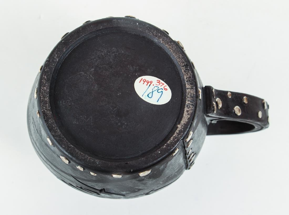 Doulton Lambeth simulated leatherware Motto Jug - 6