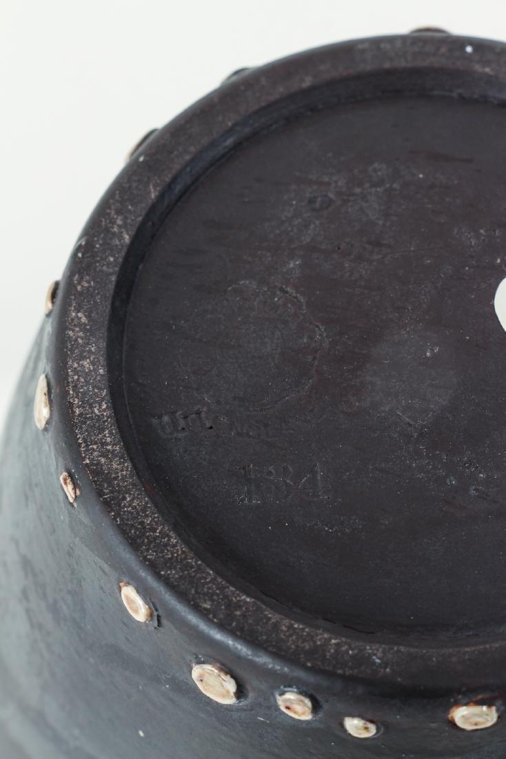 Doulton Lambeth simulated leatherware Motto Jug - 7
