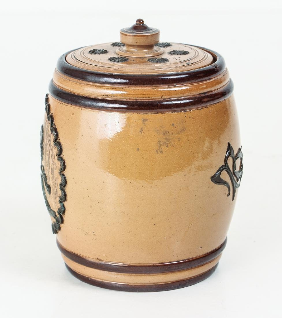 Doulton Lambeth Tobacco Jar - 4