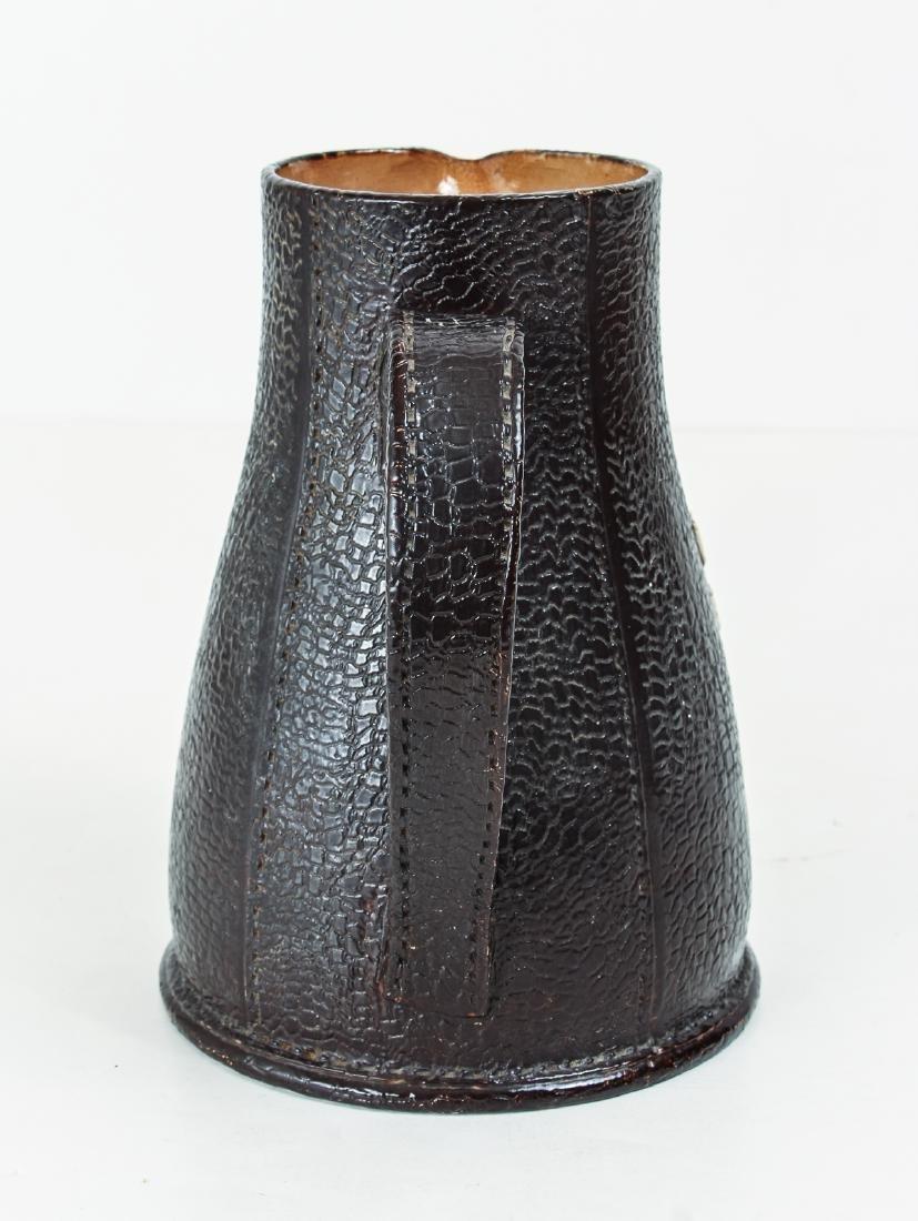 Doulton Lambeth Leather Jack Motto Jug - 3