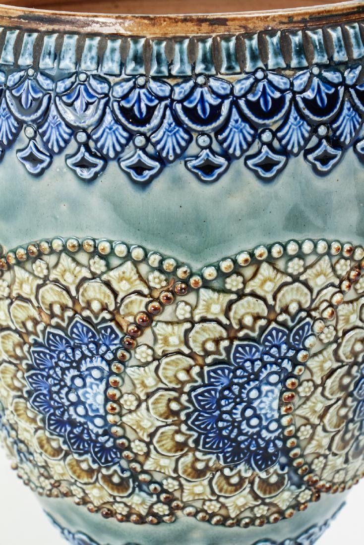 Doulton Lambeth Vase by Emily Welch - 3