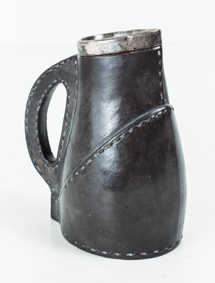 Doulton Lambeth leatherware Blade Jack Jug