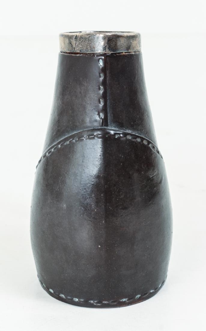Doulton Lambeth leatherware Blade Jack Jug - 2