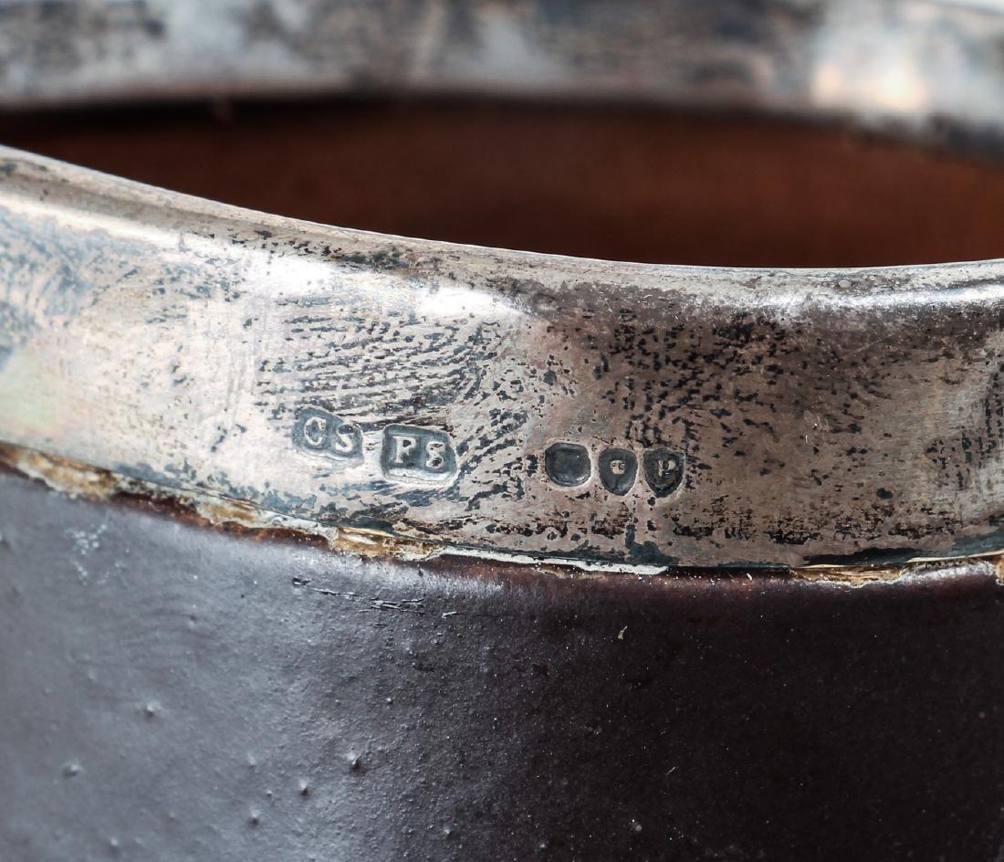 Doulton Lambeth leatherware Blade Jack Jug - 5