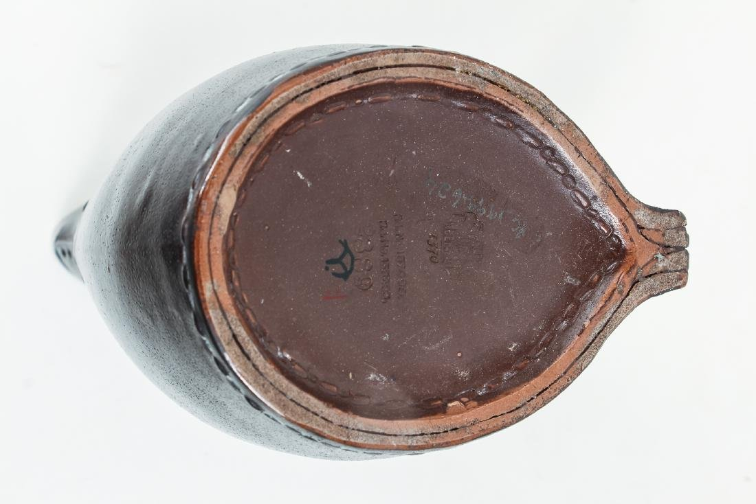 Doulton Lambeth leatherware Blade Jack Jug - 6