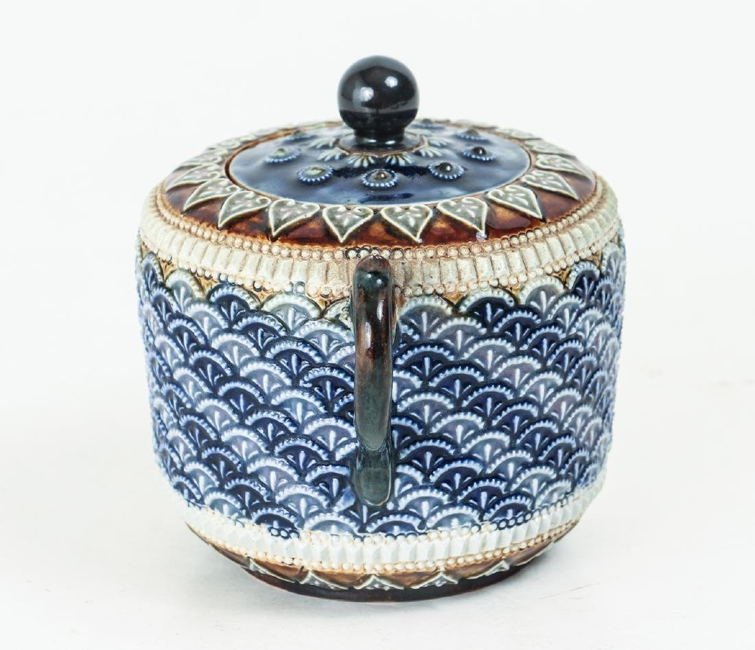 Doulton Lambeth Sugar Jar, 1885 - 3